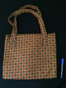 Orange Pattern Bag